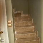 beltéri kő lépcső