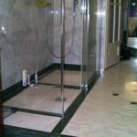 fürdőszoba kőburkolat